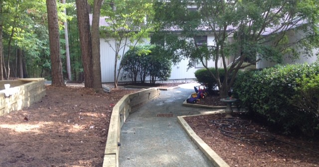 drainage repair, chapel hill